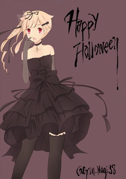 夕立もHappy Halloweenっぽい?