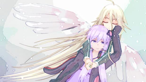 ゆかりさんと天使いあちゃん