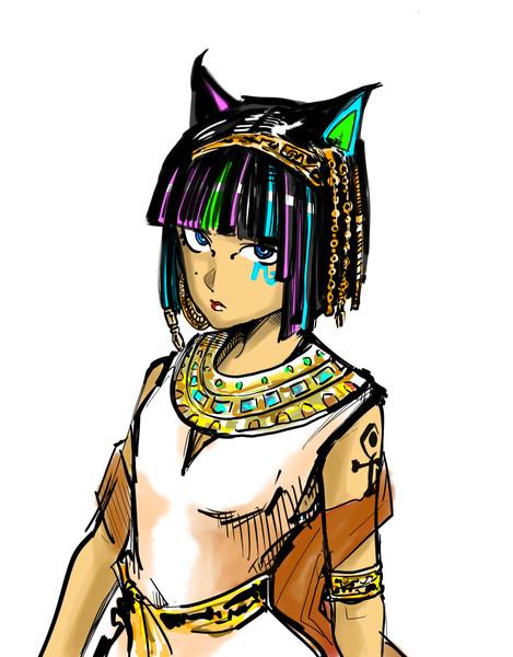 エモイ・エジプト系女子