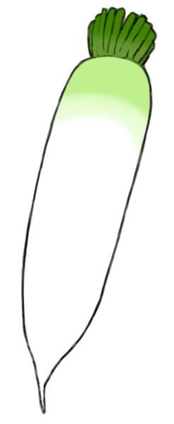 大根素材 おくにん さんのイラスト ニコニコ静画 イラスト