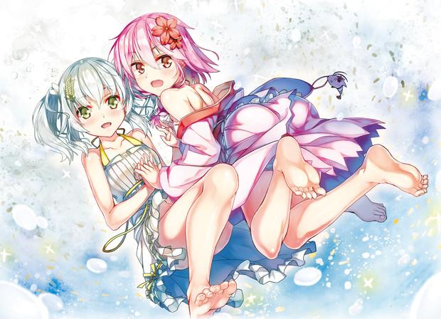 桜えびと米、絢櫻と穗姬