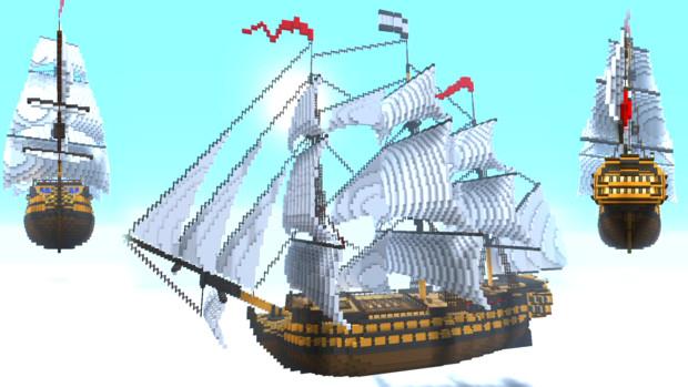 3等戦列艦 HMS Royal Hawk