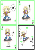 J,Q,K,JOKERの4枚組と化したJOKER姉貴