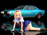 アリスと未来から来た車