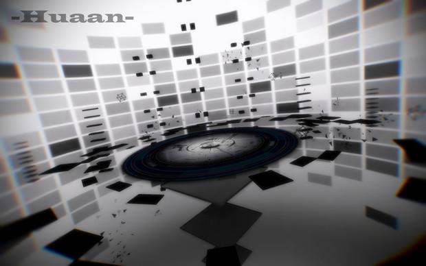 【MMDステージ配布】椛暗式-废墟ver1.0
