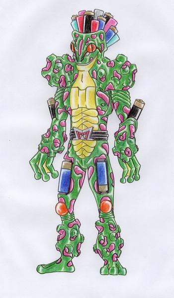 オリジナル怪人/バッテリーフロッグ