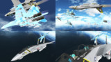 【MMD海軍】What the hell!!!【MMD空軍】