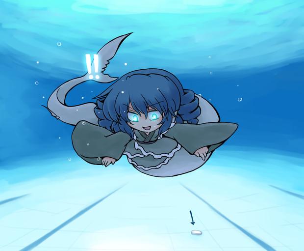 プールにて塩素との邂逅を果たすわかさぎ姫
