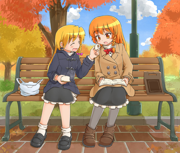 秋の日のRIくんとAZS姉貴