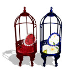 【MMD】鳥かごの椅子【アクセサリ配布】