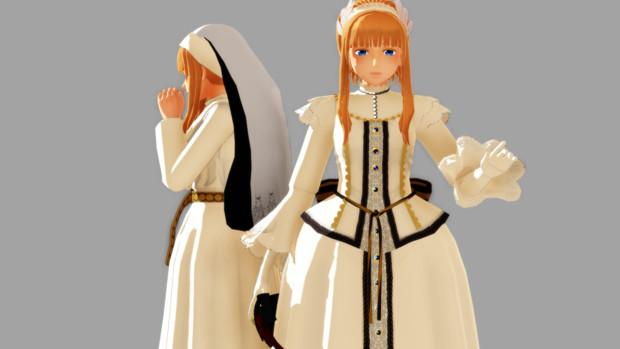 【MMDサンホラ】白羽式エリーザベト【配布終了】