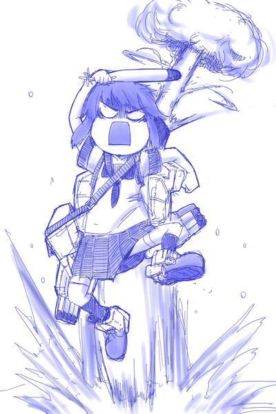 E-2丙に攻めの姿勢を崩さない深雪様