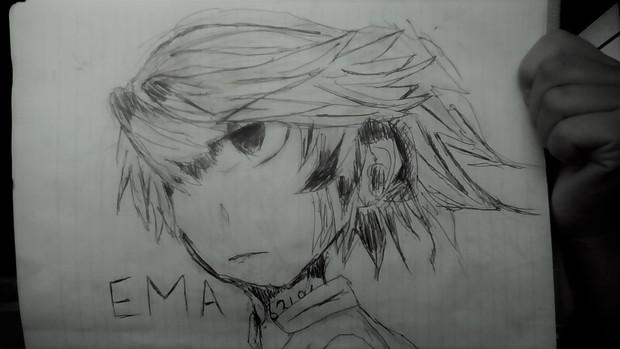 エマちゃんを描いてみたつもり
