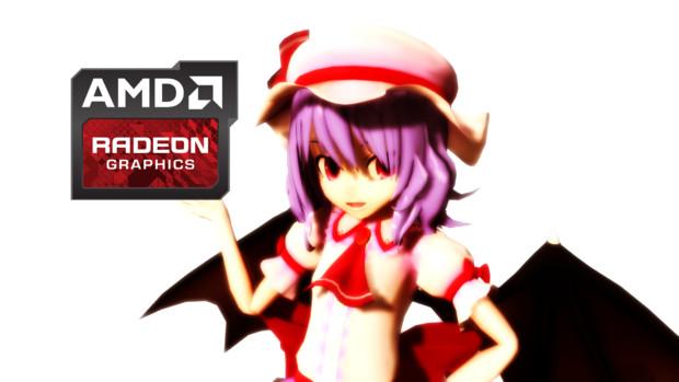 Radeonとレミリア