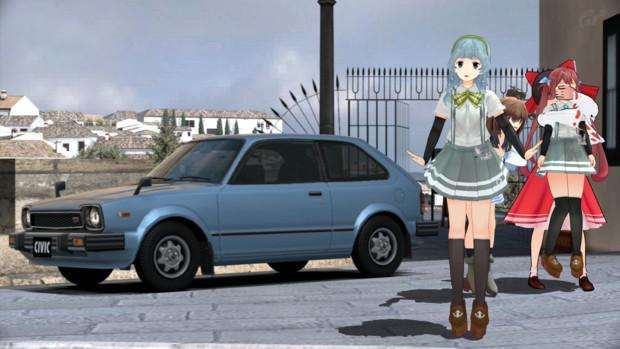 山雲(艦これ)の愛車