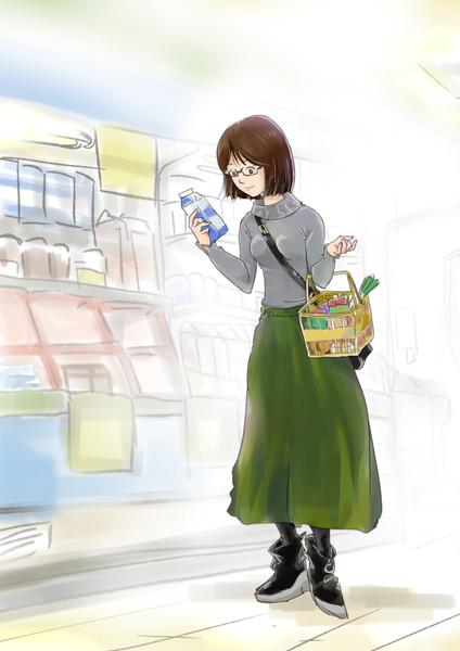 お買い物 【絵日記】