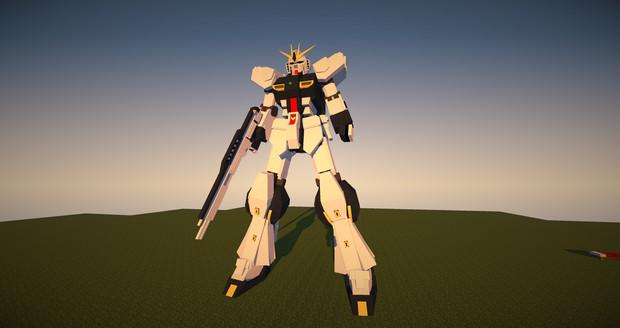 「Minecraft」νガンダム作ってみたⅣ「JointBlock」