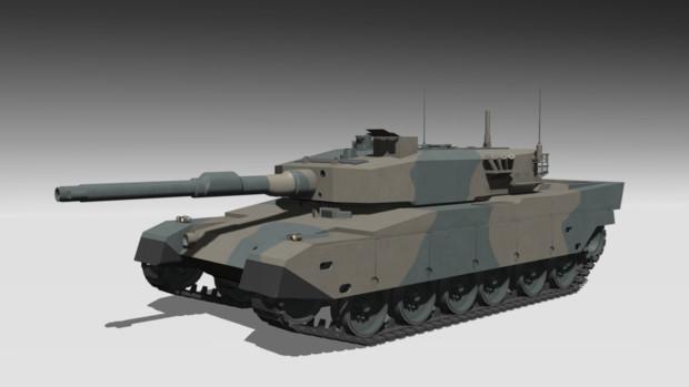 【配布】90式戦車 V2【MMDモデル】