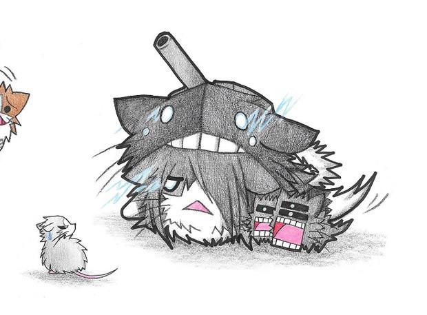 ネズミ提督とソ級ネコ