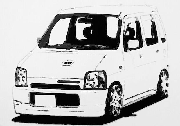 初代ワゴンR 改