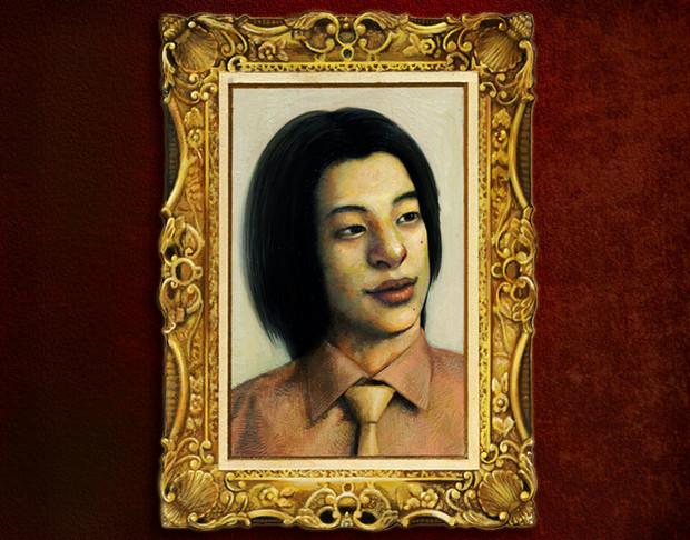 ひろゆき肖像画
