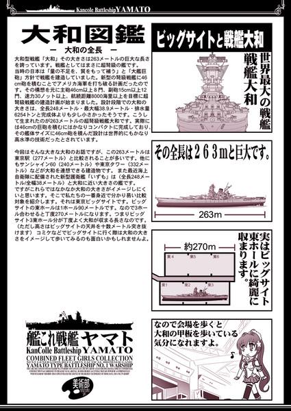 戦艦大和とビッグサイトの対比