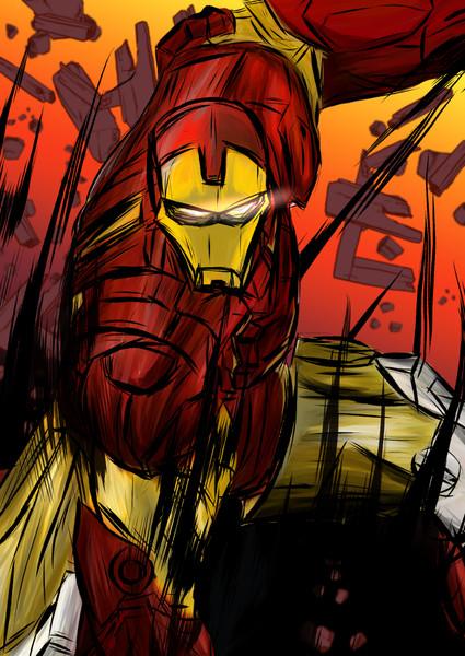 私がアイアンマンだ!