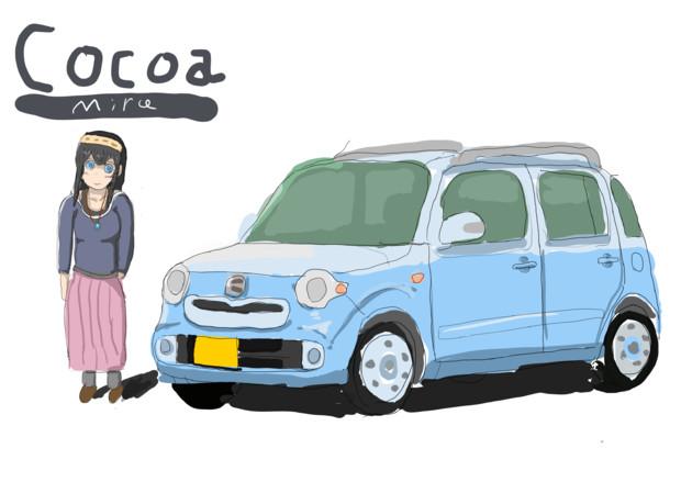 文香ちゃんの愛車