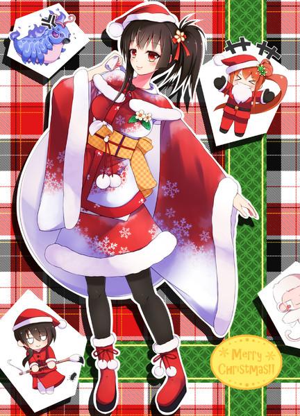 クリスマスマンリョウたち