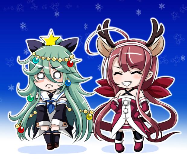 クリスマス山風