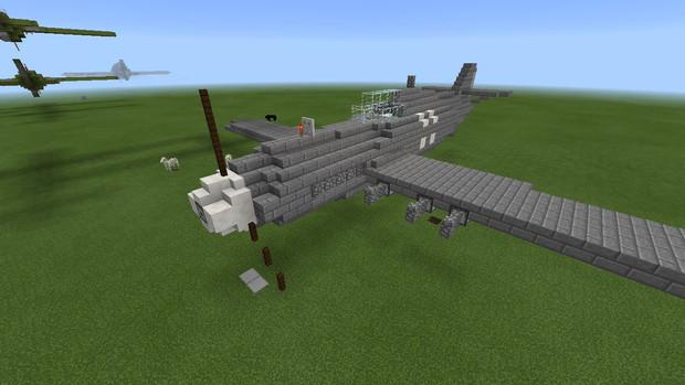 【Minecraft】Bf-109戦闘機