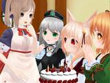 クランさん、お誕生日おめでとう【MMDオリキャラ】