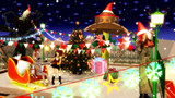 【MMDクリスマス】クリスマスカラーなフラッグガーランド配布