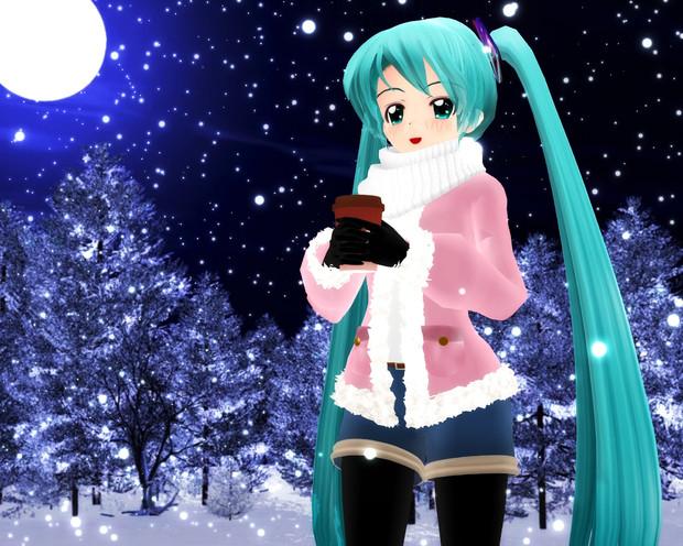 冬のお洒落らぶちゃんヾ(*≧▽≦ *)ノ
