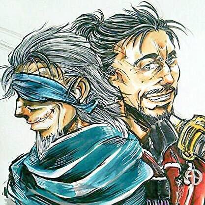DRIFTERS_ハンニバル・バルカ&維新斎
