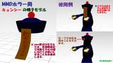 【週刊・都市伝説(号外版)】キョンシーの帽子モデル配布【MMDモデル配布あり】