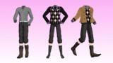 少年用冬服(3点セット)【お着替え用衣装配布】