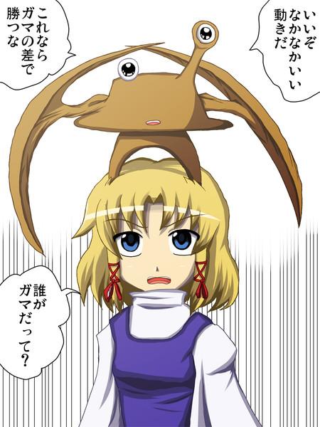 【東方】寄生帽【寄生獣】