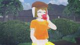 【第三回MMDダジャレ選手権】りんごを食べる鈴瑚(りんご)