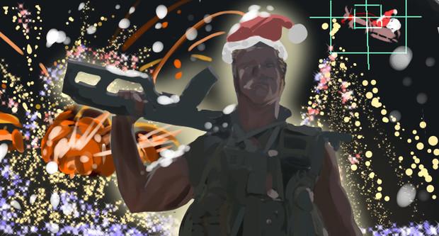 クリスマスと言ったな。あれは嘘だ。