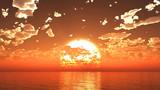 【MMDステージ配布】穏やかな夕陽 TN2【スカイドーム】