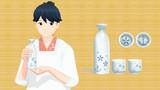 【MMDアクセサリ】鳳翔さんの徳利セット