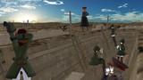 塹壕線の初日の出