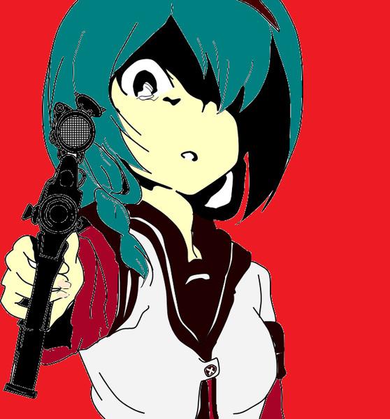武装ゆるゆり 向日葵「撃ちますわよ?」