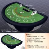【配布】ブラックジャックテーブル