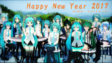 【MMD年賀状2017】Happy New Year 2017