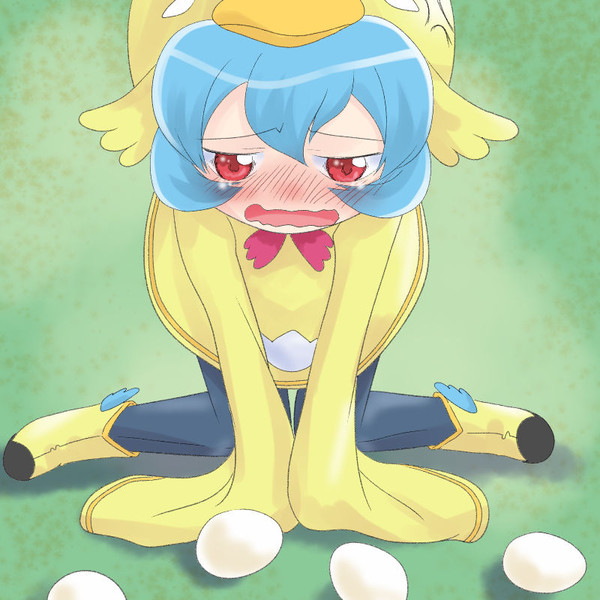 ピヨたんの貴重な産卵シーン
