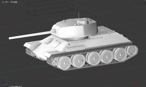 T-34 進歩