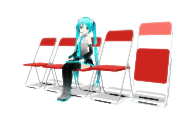 椅子 と パイプ は さん