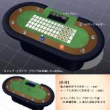 【配布】ポーカーテーブル